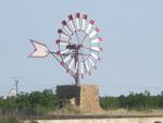 Ein Windrad auf Mallorca