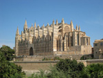 Kathedrale La Seu in Palma de Mallorca im Mai 2012