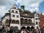 Rathaus in Freiburg im Mai 2013