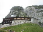 Bergstation der Zahnradbahn auf dem Wendelstein