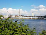 Antwerpen - Blick über die Schelde zur Altstadt