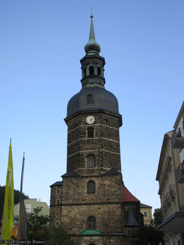 Bauershaus - Bad Schandau - St. Johannis-Kirche